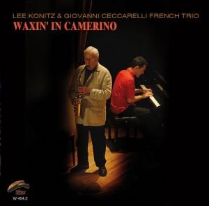 """""""Waxin' in Camerino"""" - CD cover"""