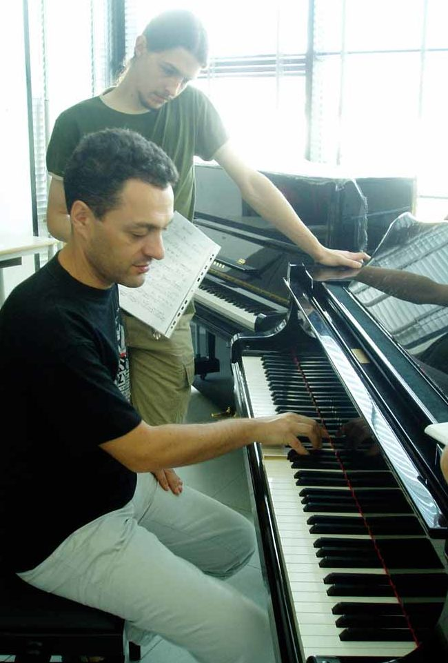 InJazz Summer Clinics - Giovanni Ceccarelli teaching Jazz Piano