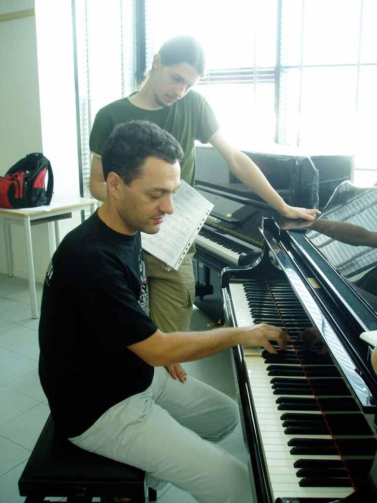 InJazz Summer Clinics - Giovanni Ceccarelli teaching Jazz Piano