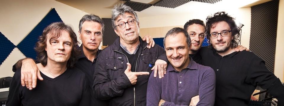"""Giovanni Ceccarelli and Ferruccio Spinetti at Italian radio program """"Brasil"""""""