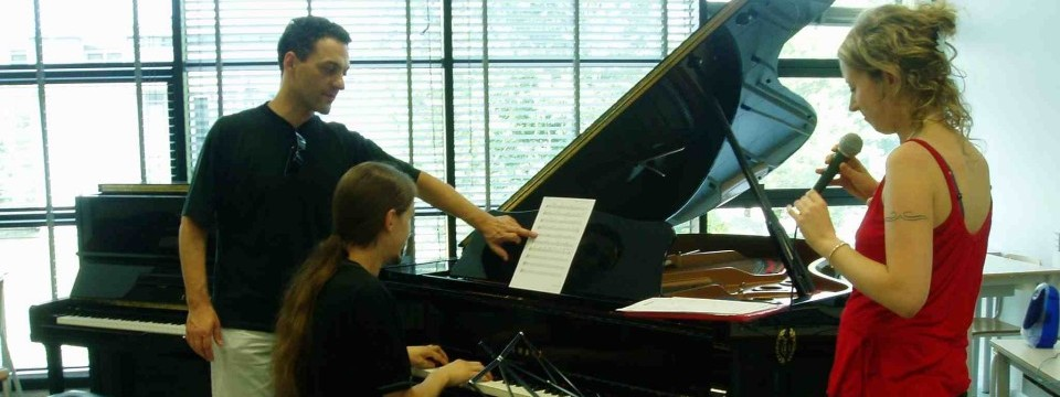 Giovanni Ceccarelli gives a Jazz Piano Masterclass and a Jazz Ensemble Music Workshop