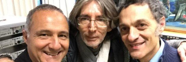 Giovanni Ceccarelli participates to Italian radio program Stereonotte