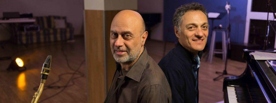 """Marcello Allulli and Giovanni Ceccarelli perform in Finland live soundtrack to silent movie """"A Santanotte"""""""